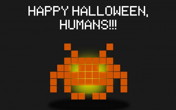 Halloween invaders - tapeta pro Windows 8, Android, iPhone, iPad, Linux, Blackberry