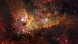 Zrození hvězdy v mlhovině